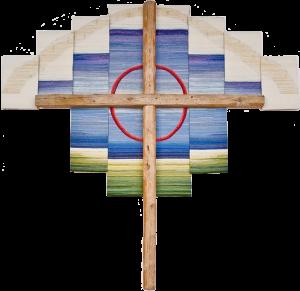 bild på korset i kyrkan